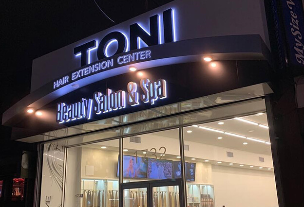 Toni Salon & Hair Extensions Store Front